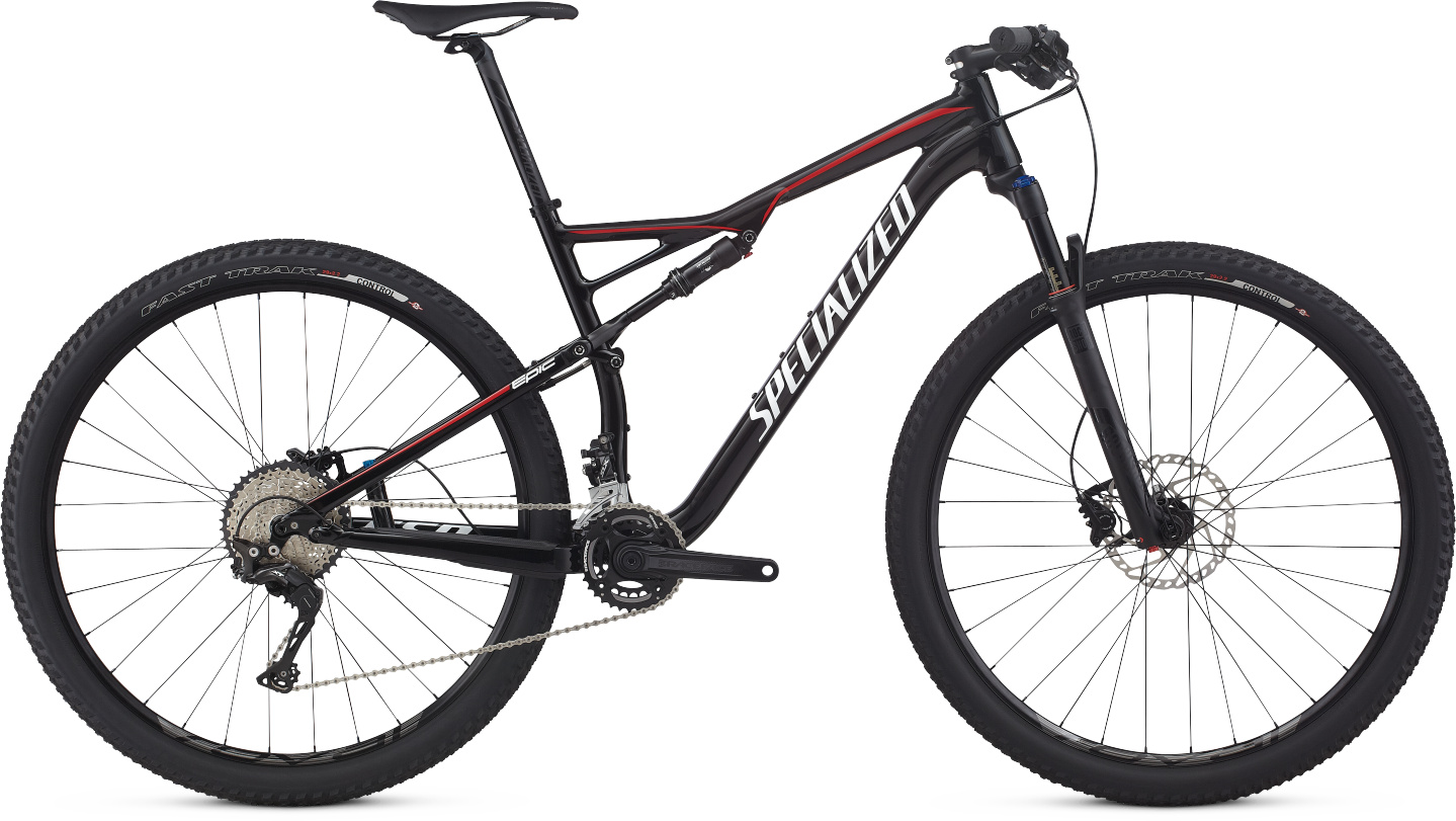 Specialized Epic FSR Comp 29 gloss black/white/red S 2017