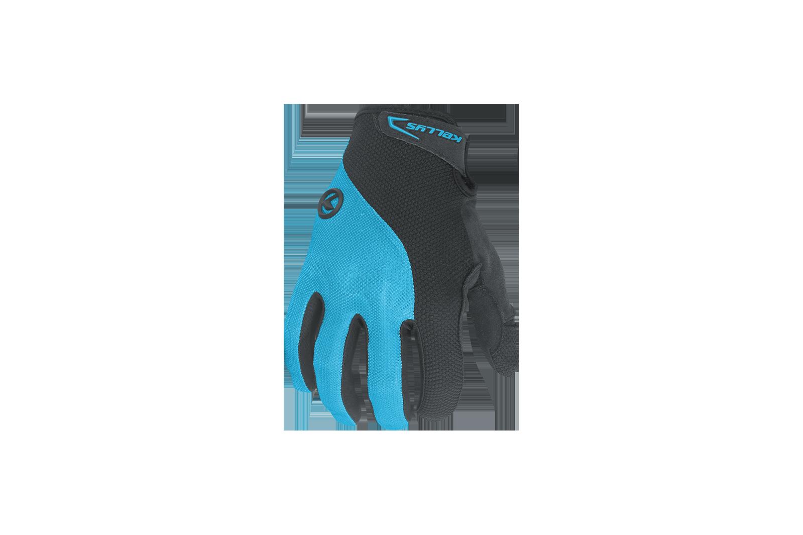 Rukavice Kellys Flow dlouhé prsty blue S