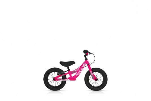 Odrážedlo Kellys Kite 12 Race Pink s brzdou