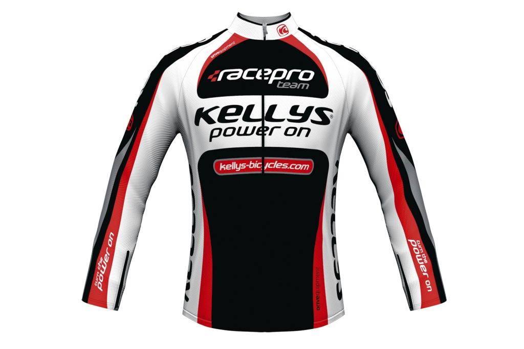 Dres Kellys Pro Team dlouhý rukáv red pánský XL