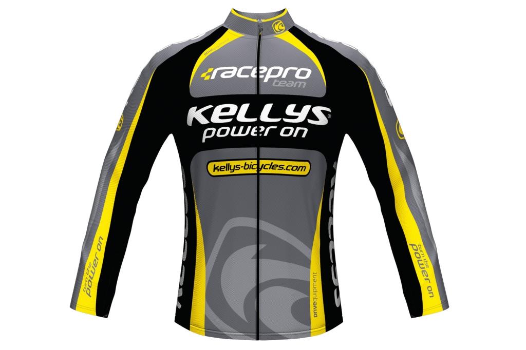 Dres Kellys Pro Team dlouhý rukáv yellow pánský XL